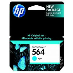 Original HP CB318WN (HP 564) inkjet cartridge - cyan