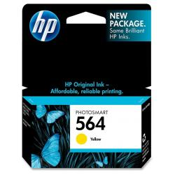 Original HP CB320WN (HP 564) inkjet cartridge - yellow