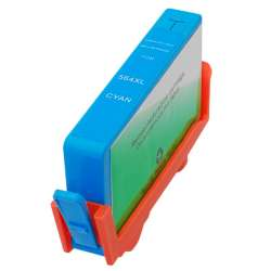 Remanufactured HP CB323WN (HP 564XL) inkjet cartridge - high capacity cyan