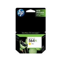 Original HP CB325WN (HP 564XL) inkjet cartridge - high capacity yellow
