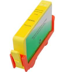 Remanufactured HP CB325WN (HP 564XL) inkjet cartridge - high capacity yellow