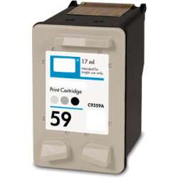 Remanufactured HP C9359AN (HP 59) inkjet cartridge - photo gray