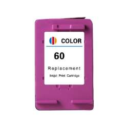 Remanufactured HP CC643WN (HP 60) inkjet cartridge - color