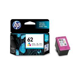 Original HP C2P06AN (HP 62) inkjet cartridge - color