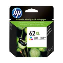 Original HP C2P07AN (HP 62XL) inkjet cartridge - high capacity color