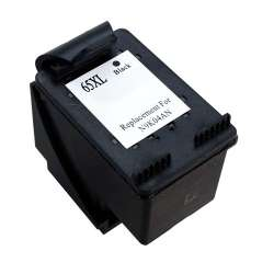 Remanufactured HP N9K04AN (HP 65XL) inkjet cartridge - high capacity black
