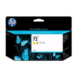 Original HP C9373A (HP 72XL) inkjet cartridge - high capacity yellow