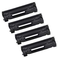 Remanufactured/Compatible HP CF279A (79A) toner cartridge - 4-pack