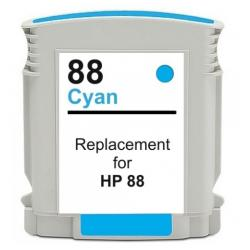 Remanufactured HP C9391AN (HP 88XL) inkjet cartridge - high capacity cyan