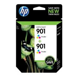 Original HP CZ076FN (HP 901 Color) Multipack - 2 pack