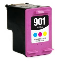 Remanufactured HP CC656AN (HP 901) inkjet cartridge - color