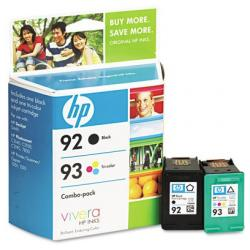 Original HP C9513FN (HP 92/93) Multipack - 2 pack