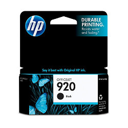 Original HP CD971AN (HP 920) inkjet cartridge - black