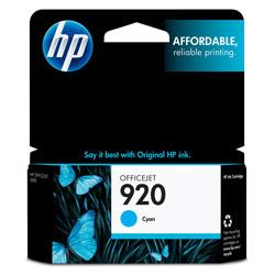Original HP CH634AN (HP 920) inkjet cartridge - cyan