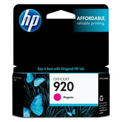 Original HP CH635AN (HP 920) inkjet cartridge - magenta