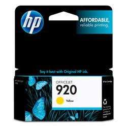 Original HP CH636AN (HP 920) inkjet cartridge - yellow