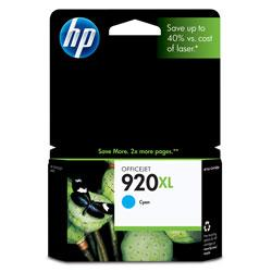 Original HP CD972AN (HP 920XL) inkjet cartridge - high capacity cyan