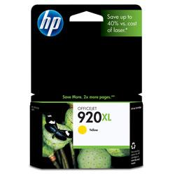 Original HP CD974AN (HP 920XL) inkjet cartridge - high capacity yellow