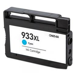 Remanufactured HP CN054AN (HP 933XL) inkjet cartridge - high capacity cyan