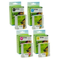 Premium ink cartridge replacement for HP 940XL - high capacity 4 pack - Made in the USA