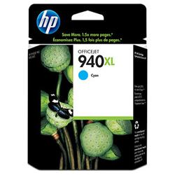Original HP C4907AN (HP 940XL) inkjet cartridge - high capacity cyan