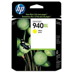 Original HP C4909AN (HP 940XL) inkjet cartridge - high capacity yellow
