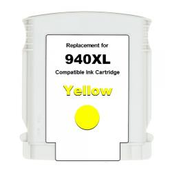 Premium ink cartridge replacement for HP 940XL - high yield yellow - Made in the USA