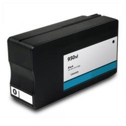 Remanufactured HP CN045AN (HP 950XL) inkjet cartridge - high capacity black (FULL INK LEVEL SHOWN)
