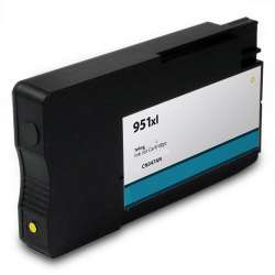 Remanufactured HP CN048AN (HP 951XL) inkjet cartridge - high capacity yellow (FULL INK LEVEL SHOWN)