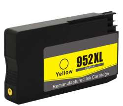 Remanufactured HP L0S67AN (HP 952XL) inkjet cartridge - high capacity yellow