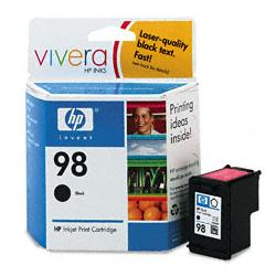 Original HP C9364WN (HP 98) inkjet cartridge - black