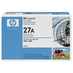 Original HP C4127A (27A) toner cartridge - black