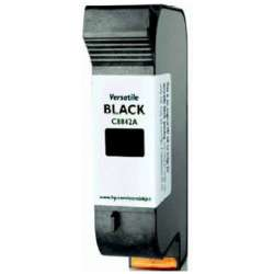 Remanufactured HP C8842A inkjet cartridge - versatile black