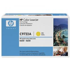 Original HP C9722A (641A) toner cartridge - yellow