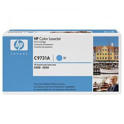 Original HP C9731A (645A) toner cartridge - cyan