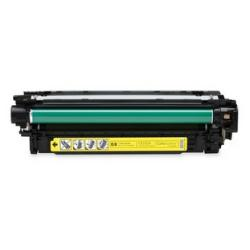 Remanufactured/Compatible HP CE252A (504A) toner cartridge - yellow