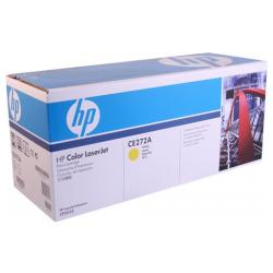 Original HP CE272A (650A) toner cartridge - yellow