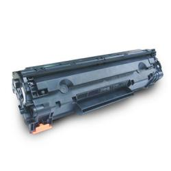 Remanufactured/Compatible HP CE285A (85A) toner cartridge - black
