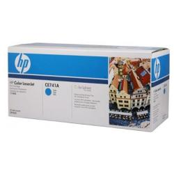 Original HP CE741A (307A) toner cartridge - cyan