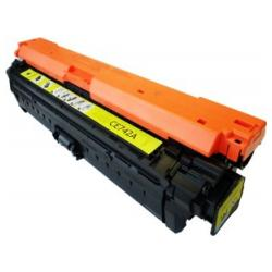 Remanufactured/Compatible HP CE742A (307A) toner cartridge - yellow