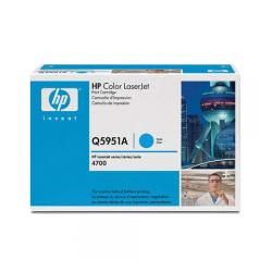 Original HP Q5951A (643A) toner cartridge - cyan