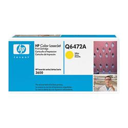 HP Q6472A Genuine OEM Yellow Laser Toner Cartridge