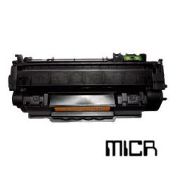 Remanufactured/Compatible HP Q7553A (53A) toner cartridge - MICR black