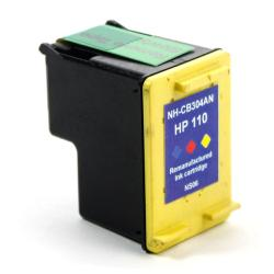 Remanufactured HP CB304AN (HP 110) inkjet cartridge - color