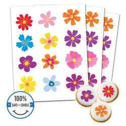 Custom Printed Cookie Toppers & Cupcake Toppers - 15 circles, 2 inch