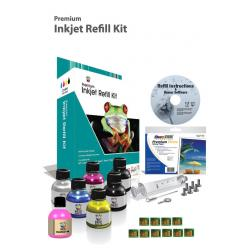 Uni-Kit Inkjet Refill Kit for Kodak #10 with Chips