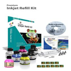Uni-Kit Inkjet Refill Kit for Lexmark 150XL - 9 refills
