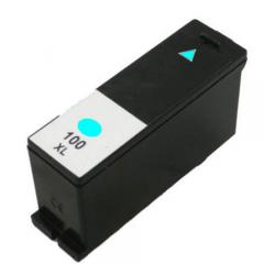 Compatible Lexmark 14N1093 (#100XL) inkjet cartridge - high capacity cyan