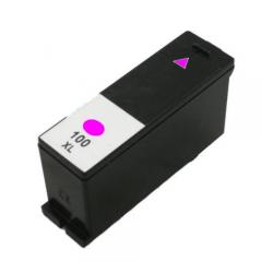 Compatible Lexmark 14N1094 (#100XL) inkjet cartridge - high capacity magenta