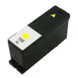 Compatible Lexmark 14N1095 (#100XL) inkjet cartridge - high capacity yellow